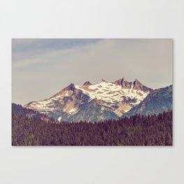 Vintage Cascades Canvas Print