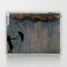 Watercolour: Broken Umbrella Laptop & iPad Skin