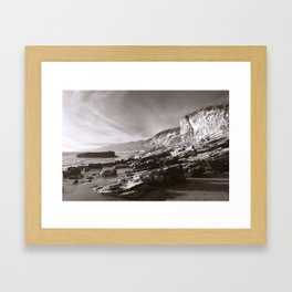 Slant Framed Art Print