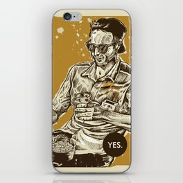YES public disgrace 2 iPhone Skin