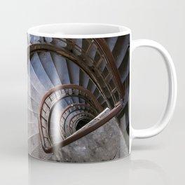 Old steel spiral staircase Coffee Mug
