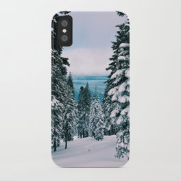 The Lake Beyond The Snow iPhone Case
