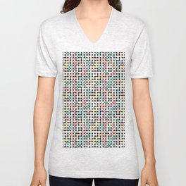 Network Analysis Unisex V-Neck