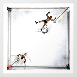 Ali x Williams  Art Print