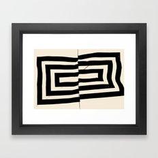 Mountain Heart 1 Framed Art Print