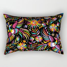 Birdy Colors Rectangular Pillow