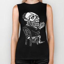 Capitalist Skull Biker Tank