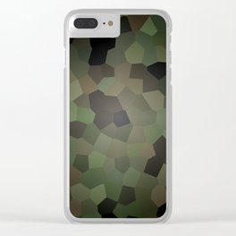 Camo Glass Clear iPhone Case