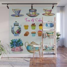 Tea & Cake Wall Mural