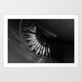 Turbine Bypass Art Print