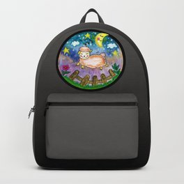 Watercolor Sheep Backpack