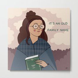 An old family name Metal Print