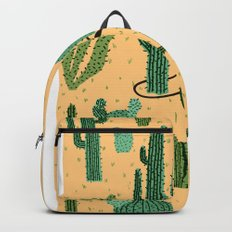 The Snake, The Cactus and The Desert Backpack