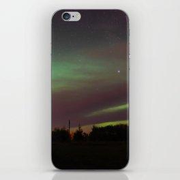 Cloudy Aurora Borealis iPhone Skin