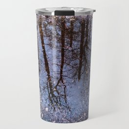 A forest in the puddle Travel Mug