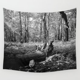 What Falls in the Forest Wall Tapestry
