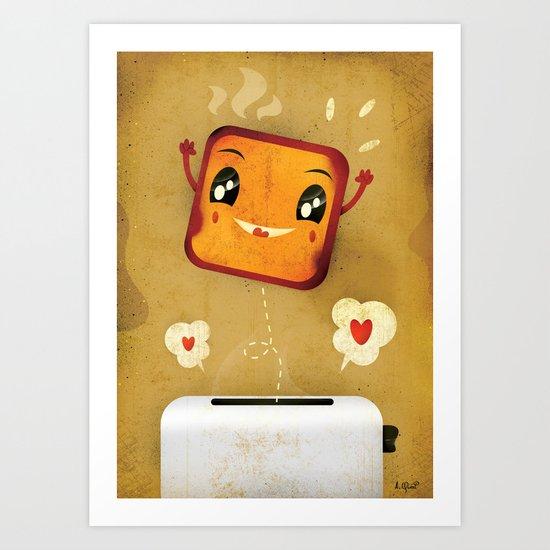 Morning... Art Print