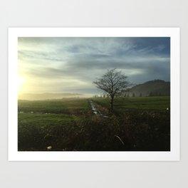 Oregon Countryside Art Print