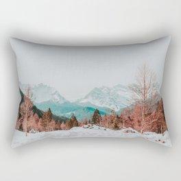 Dolomites, Winter 2017 Rectangular Pillow