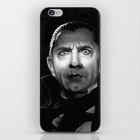actor iPhone & iPod Skins featuring Bela Lugosi is Dead by Thubakabra