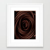 chocolate Framed Art Prints featuring Chocolate by Giada Rossi