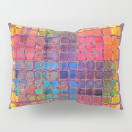 ARTIST'S PASTELS  BOX OF COLORS Pillow Sham