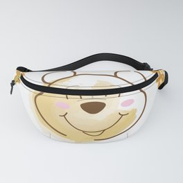Inspired Pooh Bear surrounded with bees Fanny Pack