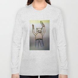 Killer cat Long Sleeve T-shirt