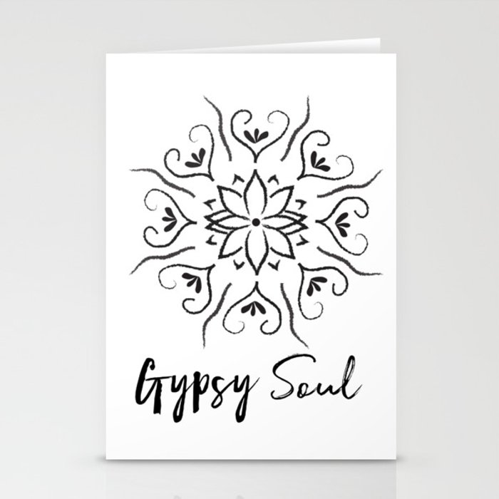 Gypsy Soul 2 Stationery Cards