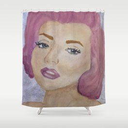 Pinkilyn Shower Curtain