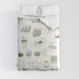 Cover, CONTAIN, Compost - 2 of 3 Comforters