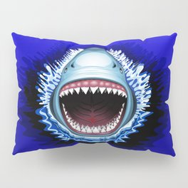Shark Jaws Attack Pillow Sham