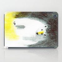 polar bear iPad Cases featuring Polar Bear by Linette No