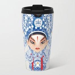 Beijing Opera Character ZhaoYun Travel Mug