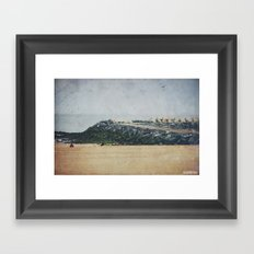 Oostende Framed Art Print