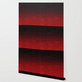 Red & Black Glitter Gradient Wallpaper