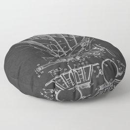 Automobile Radiator Ornament 1927 Patent Floor Pillow
