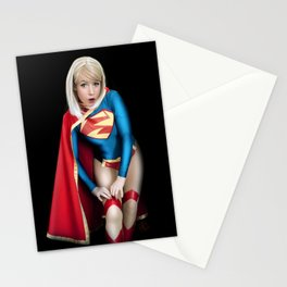 Supergirl Stationery Cards
