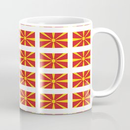 Flag of Macedonia 2 - Macedonian,skopje,Bitola,Kumanovo,Prilep,Balkan,Alexander the great,Karagoz Coffee Mug