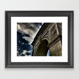 The Arc Framed Art Print