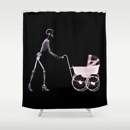Mother 's Skull  Shower Curtain