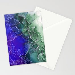 Periwinkle Contrast Stationery Cards