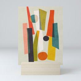 Sticks and Stones Mini Art Print