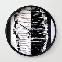 camouflage Wall Clocks featuring Camouflage by RvHART
