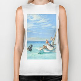 Ground Swell OIl Painting by Edward Hopper Biker Tank
