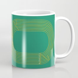Eight track - runners never quit Coffee Mug