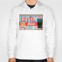 austin Hoodies featuring Austin, TX by Black Oak ATX