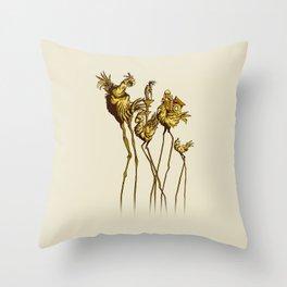 Dali Chocobos Throw Pillow