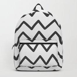 Modern Wave Line Pattern Art Backpack