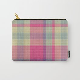 Plaid 14 Carry-All Pouch
